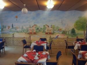 Hagenbeck als Illusionsmalerei im Pflegeheim