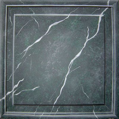 Nero Marquina (schwarz-grüner Marmor)