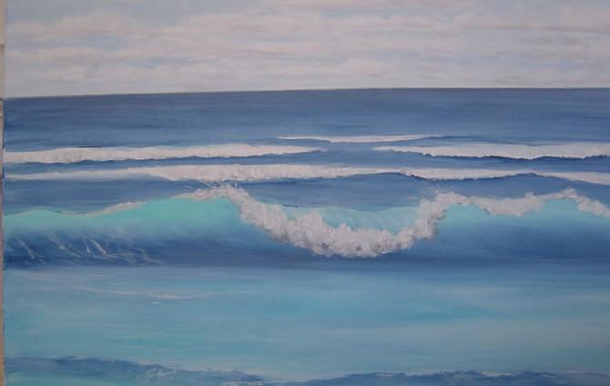 Meer-Wellen-Bild